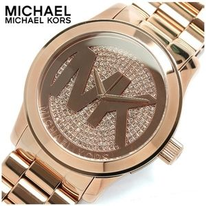 MICHAEL KORS MK3463 Signature Gold-Tone Watch